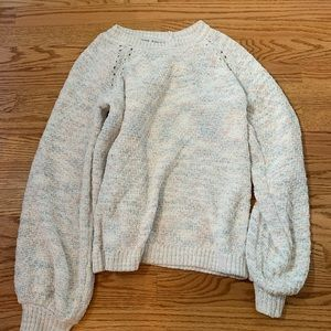 cut back sweater
